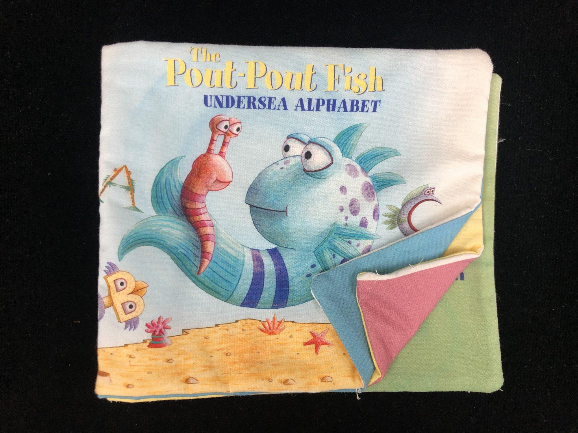 Pout Pout Fish Alphabet Soft Book Sample