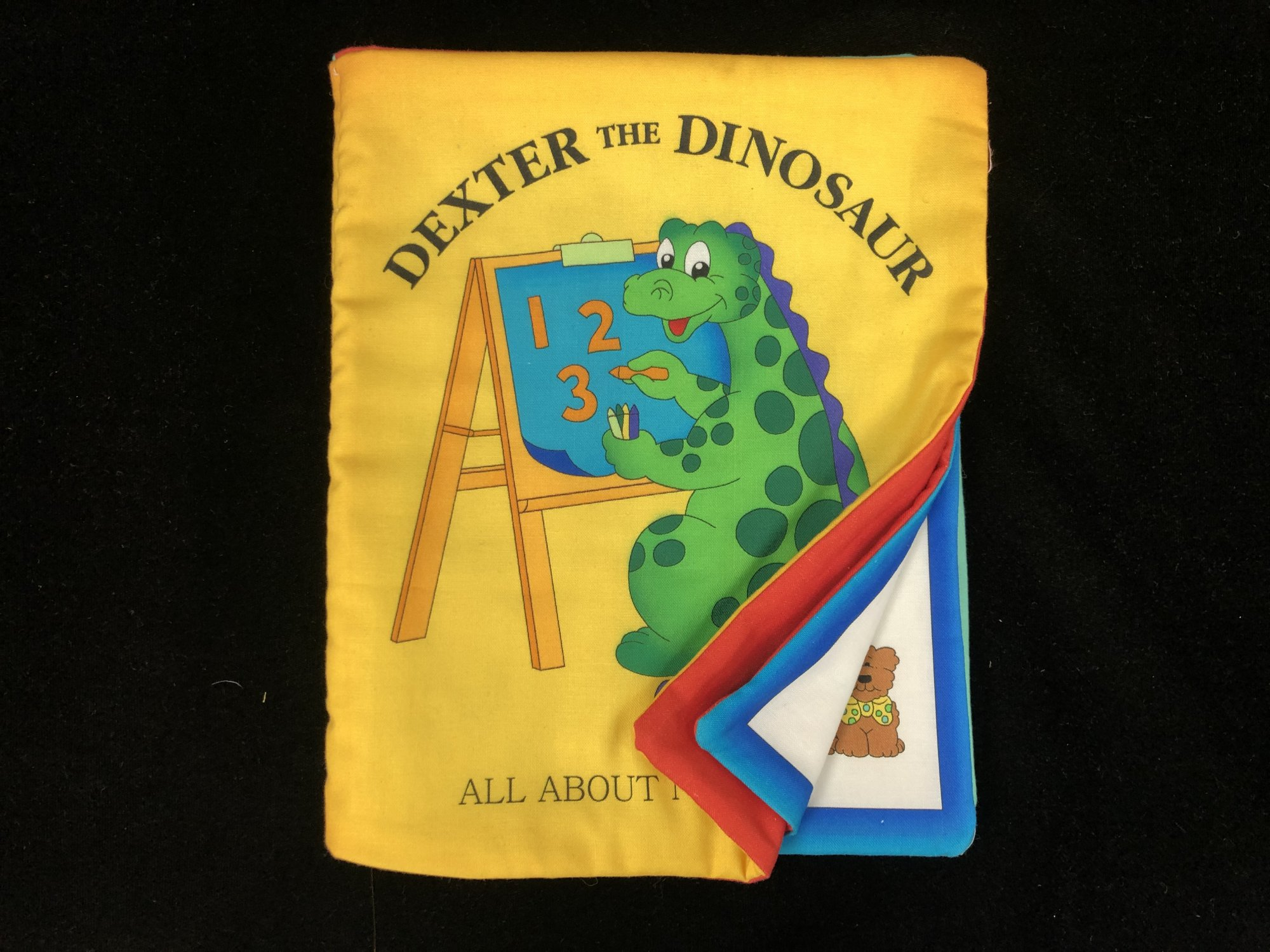 Dexter the Dinosaur All About Numbers Soft Book Sample