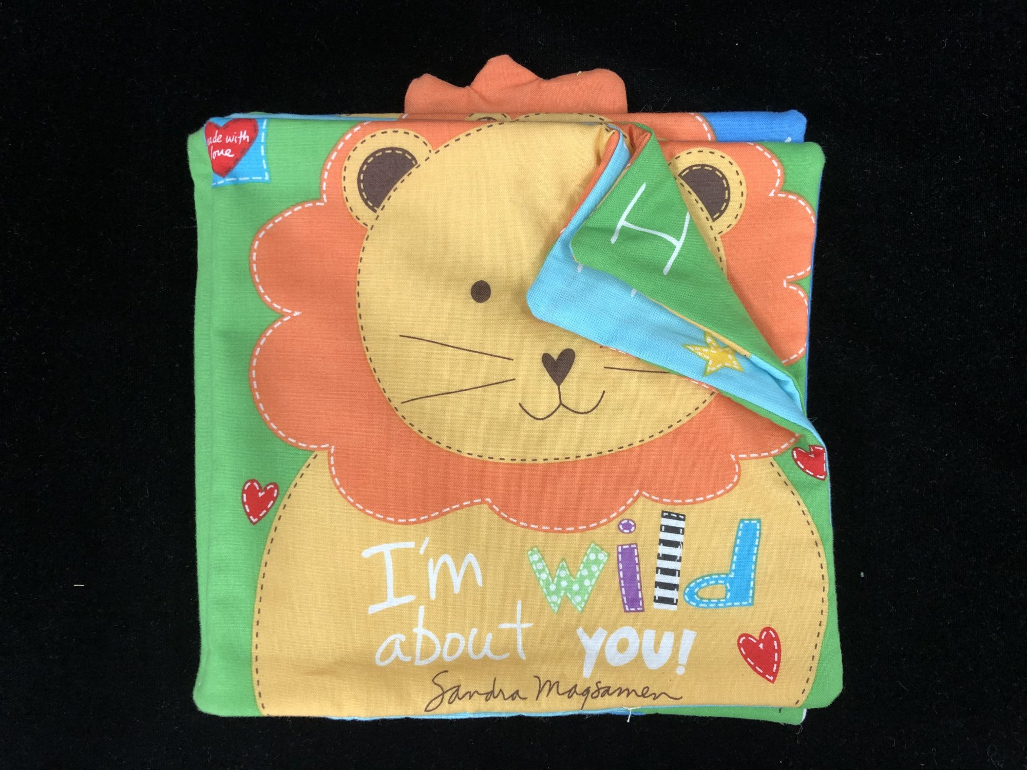 I'm Wild About You Soft Book Sample