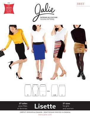 Jalie Lisette Pull On Skirt