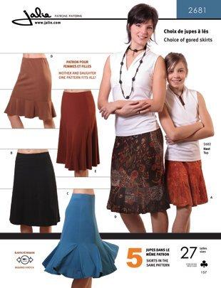 Jalie Knit Skirt
