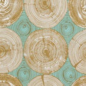 Modernist Tree Ring Bling Dijon