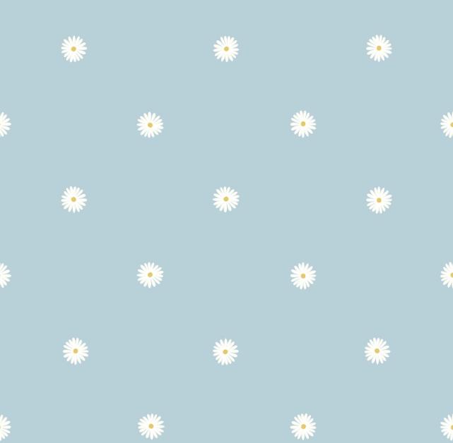Jolly Spring Blue Daisy