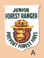 Smokey Junior Ranger Patch 1961