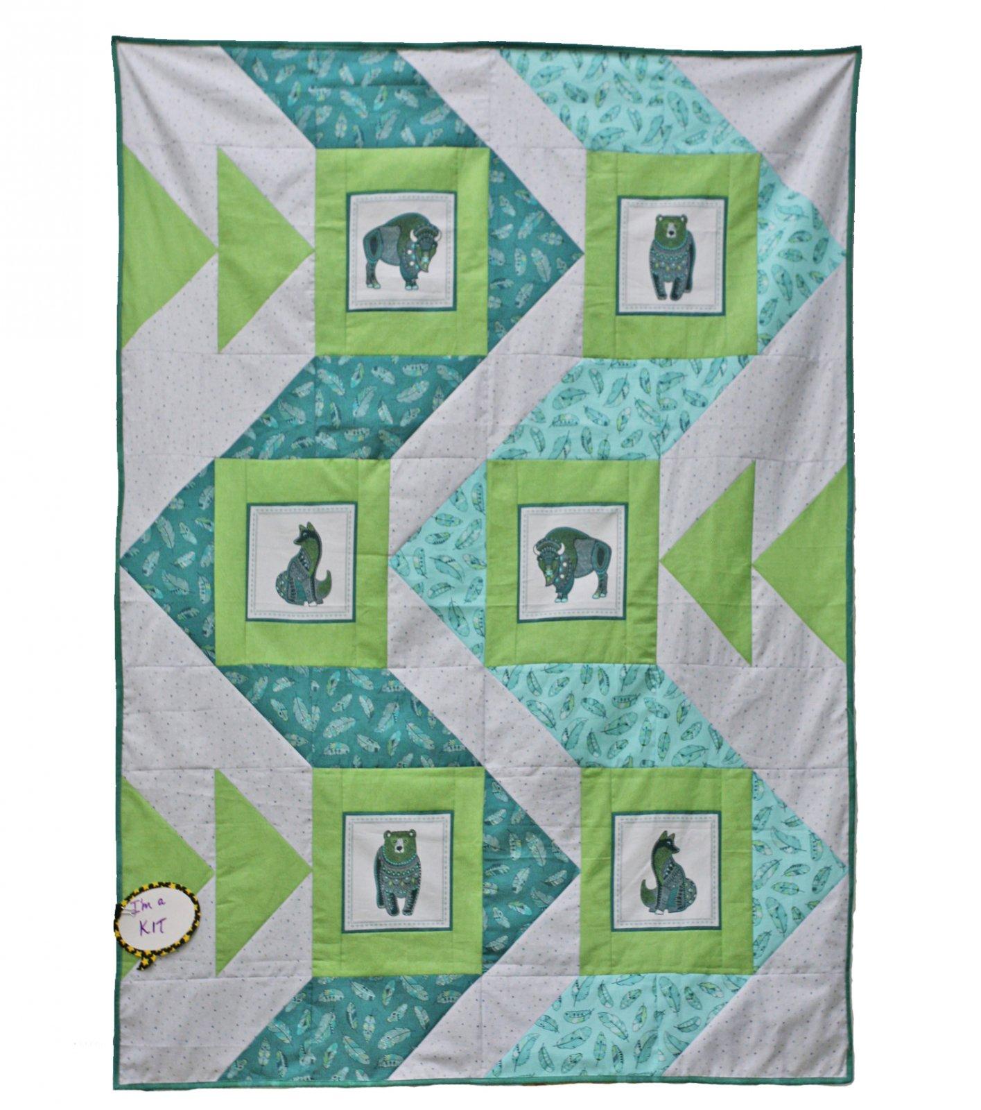 June Top a Long - Bounce Quilt Kit