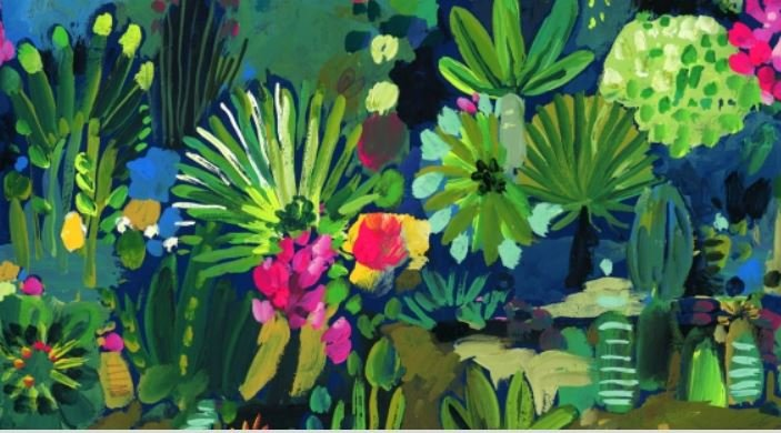 Viva Mexico Jungle Multi Fabric