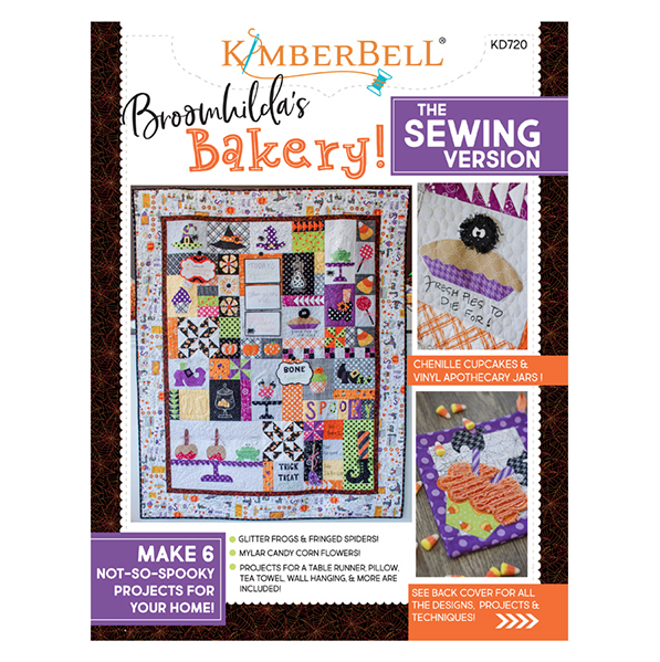 Kimberbell Sewing Version Broomhilda's Bakery Book