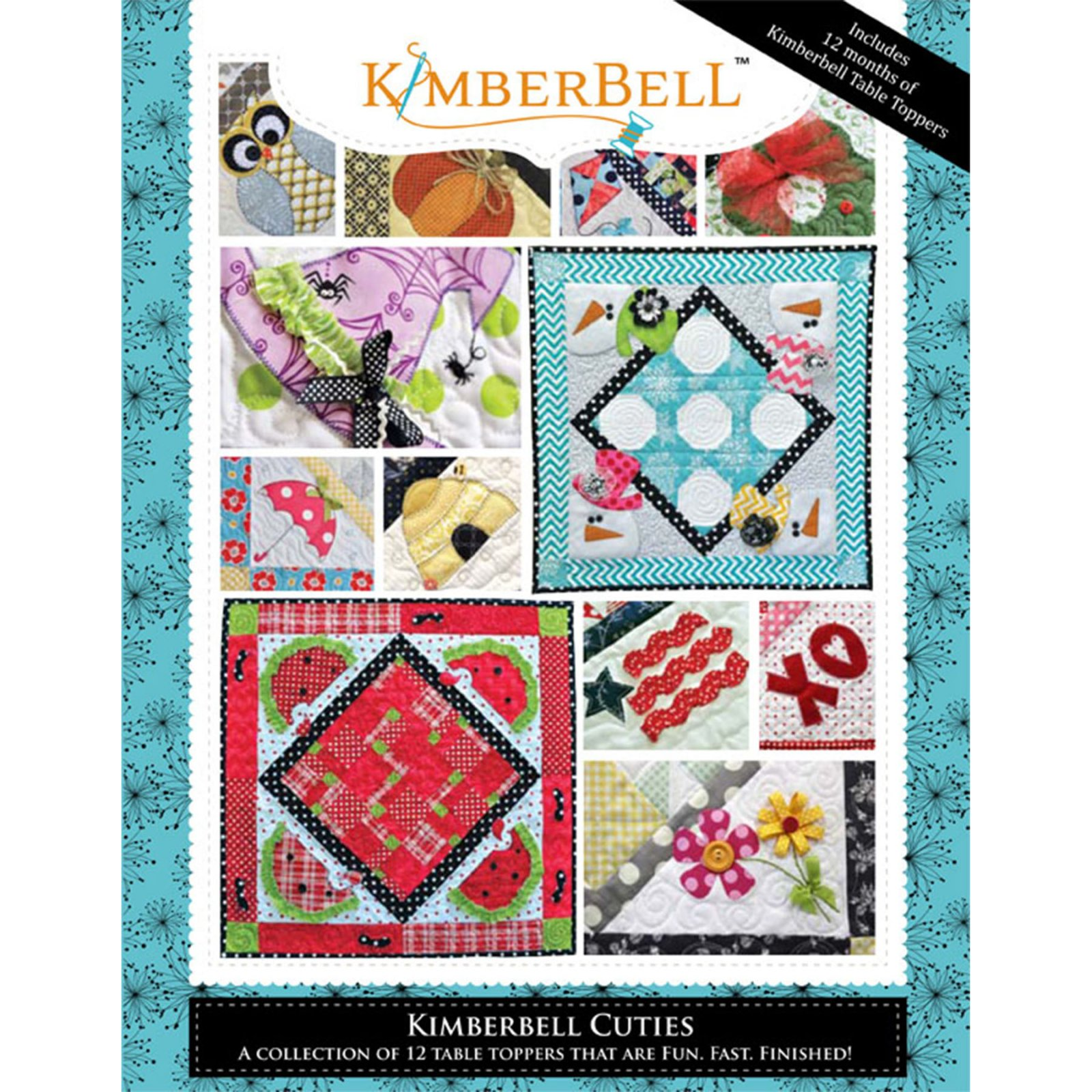 Kimberbell Cuties Seasonal Table Topper Pattern Book