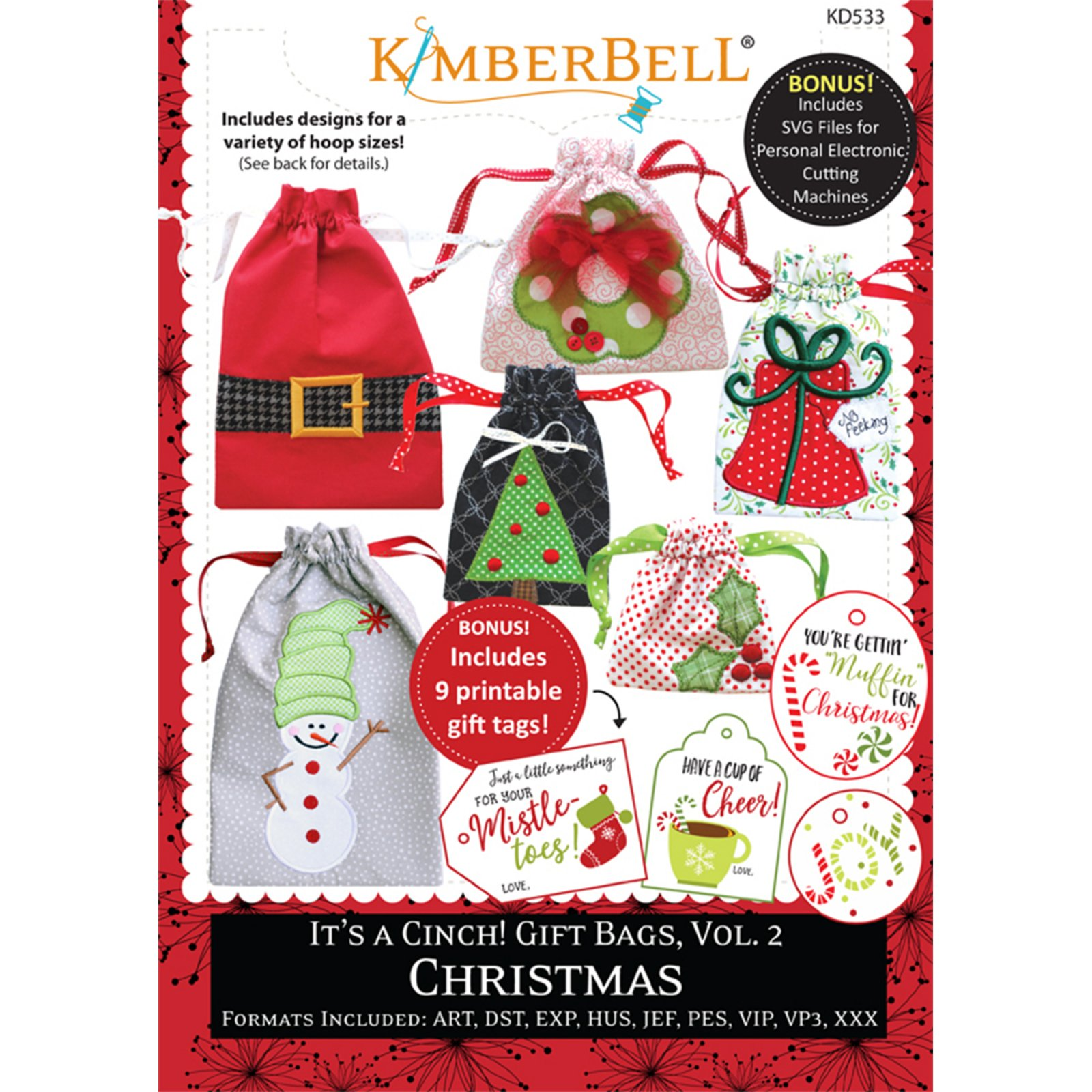 KimberBell It's a Cinch! Gift Bags