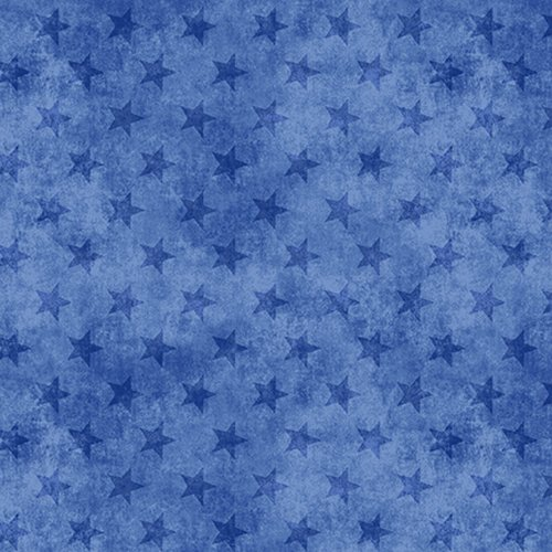 Land of the Free Stars Blue