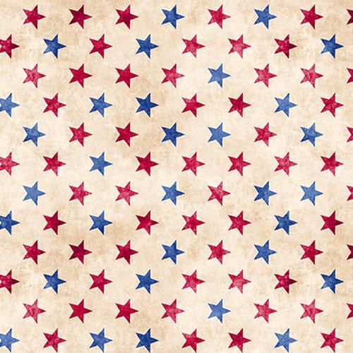 Land of the Free Stars Tan