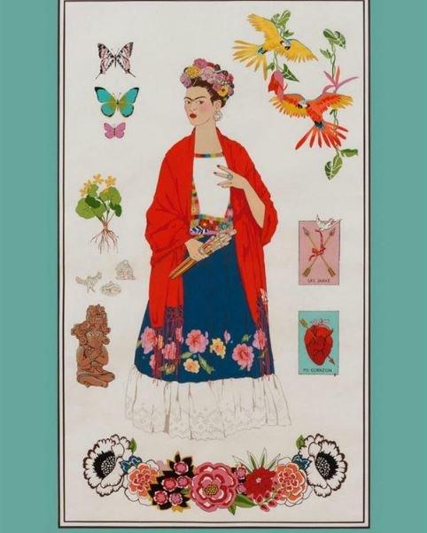 L'Artista con Alma Brite Frida Kahlo