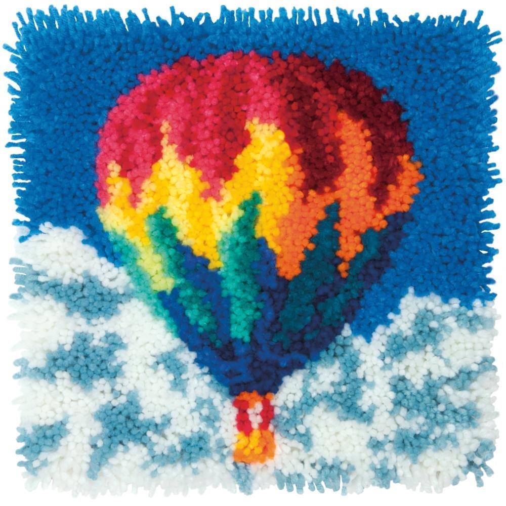 Hot Air Balloon Latch Hook Kit