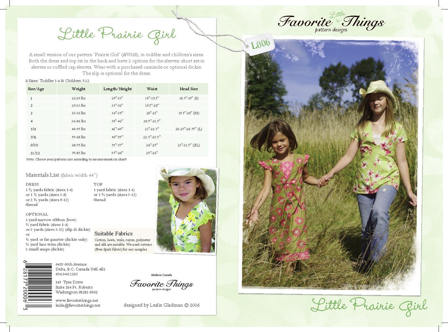 Little Prairie Girl