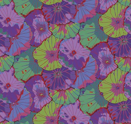 Kaffe Fassett Collective 2020: Lotus Leaf Wideback - Purple