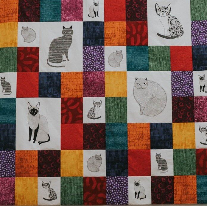 Lucky 13 Bright Quilt kit
