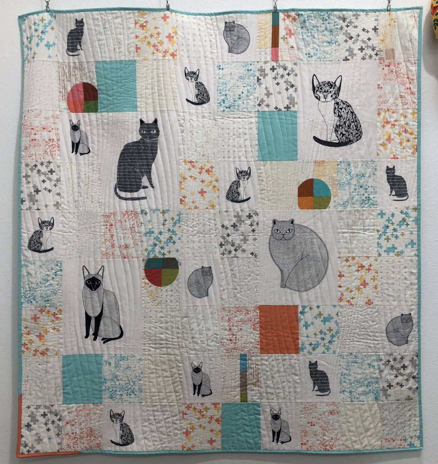 Lucky 13 Natural Quilt Kit