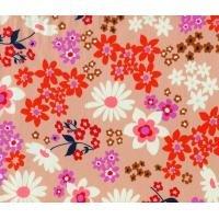 Playful Vintage Floral Pink Lawn
