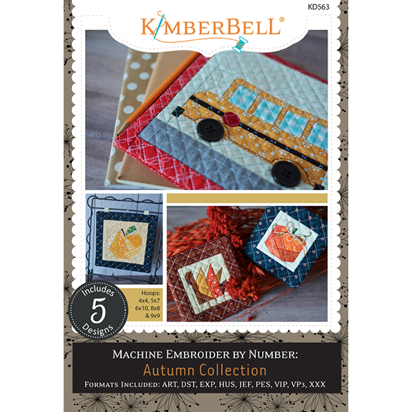 Kimberbell Machine Embroidery by Number: Autumn Collection