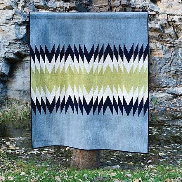 Macho Canyon Quilt Kit & Southwest Modern