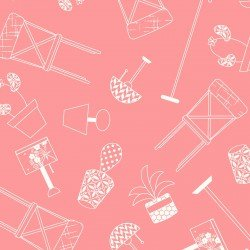 Make Yourself at Home: Home Furnishings Pink