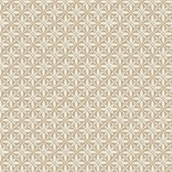 Kimberbell Make Yourself at Home Tufted Star Taupe Fabric