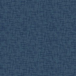 Kimberbell Make Yourself at Home Linen Texture Navy Fabric