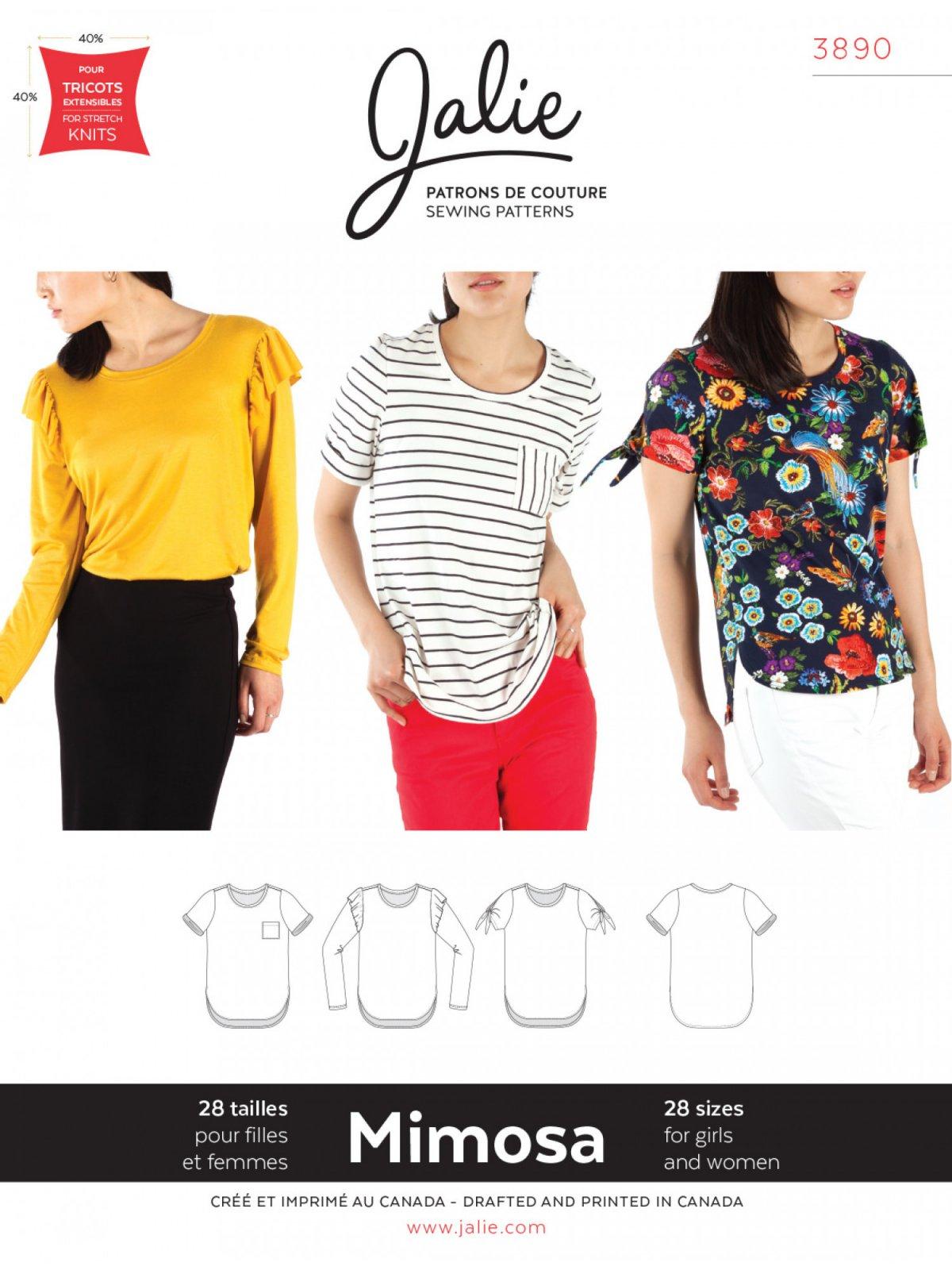Jalie Mimosa T-Shirt Pattern