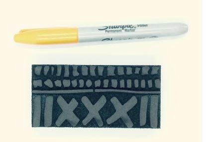 Nathalie Kalbach Studio Batik Pattern 1