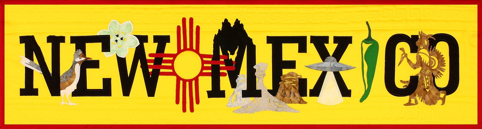 State Pride New Mexico Laser-cut Applique Kit