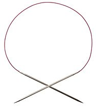 Nickel Plated Circular Knitting Needle sz 2, 47