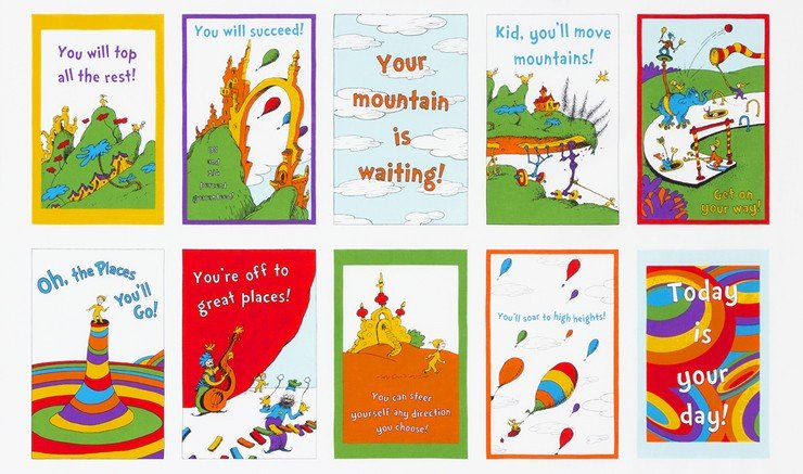 Oh the Places You'll Go Soft Book