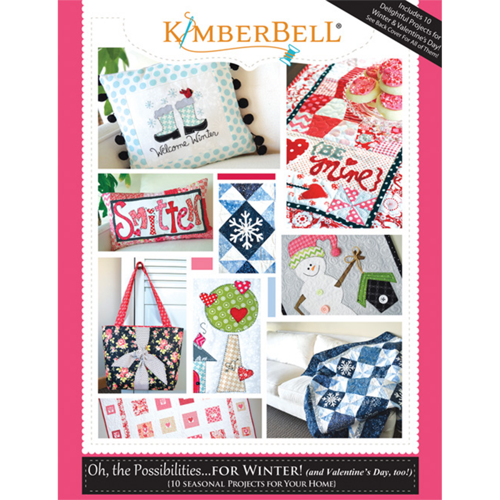 Kimberbell Oh, the Possibilities for Winter Pattern Book