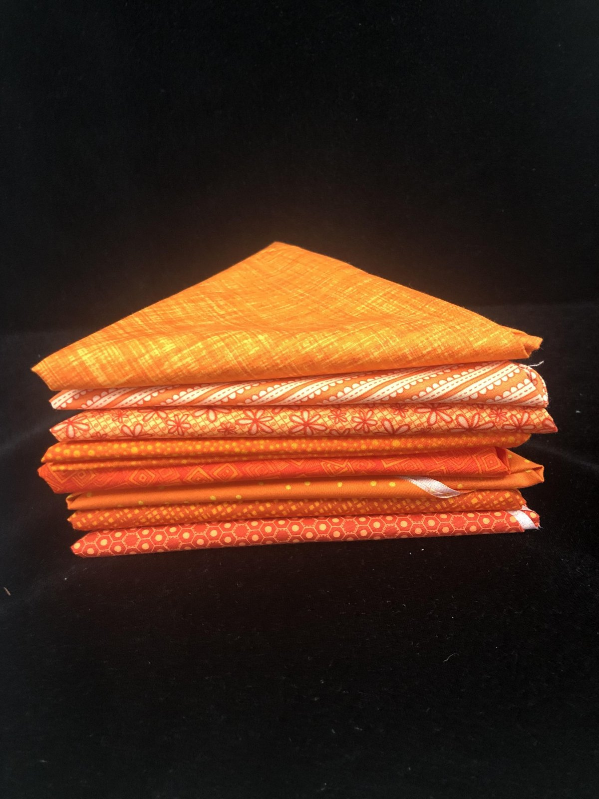 Outstanding Oranges 8 Fat Quarter Bundle