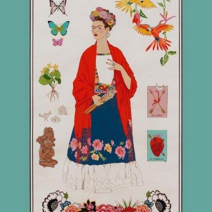 L'Artista con Alma Brite Frida