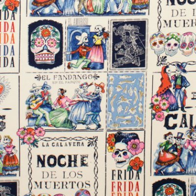 Baile De Calaveras Frida Kahlo - Tea Marine