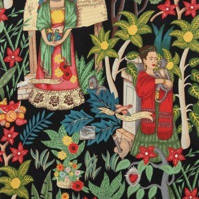 Frida's Garden Black Frida Kahlo