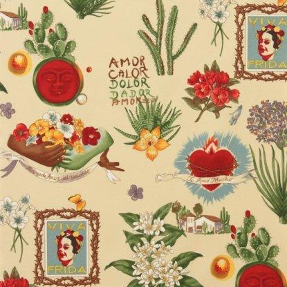 Viva Frida - Parchment Frida Kahlo