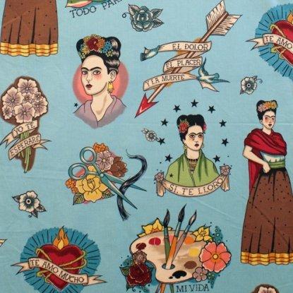 Todo Para Ti Frida Kahlo - Turquoise
