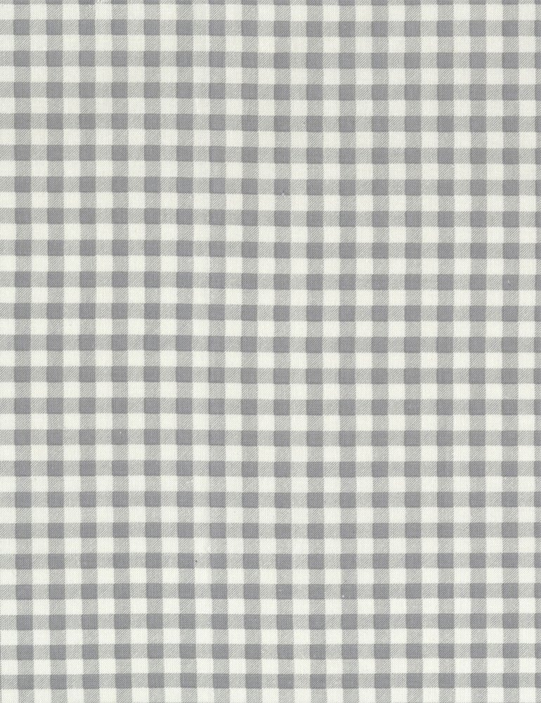 Bunnies Gray Plaid Check