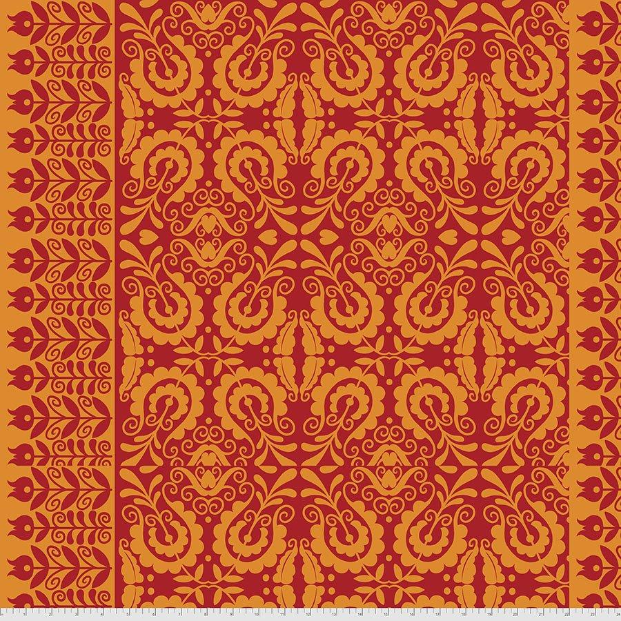 Sassy Summer Salsa Folk Art - Red