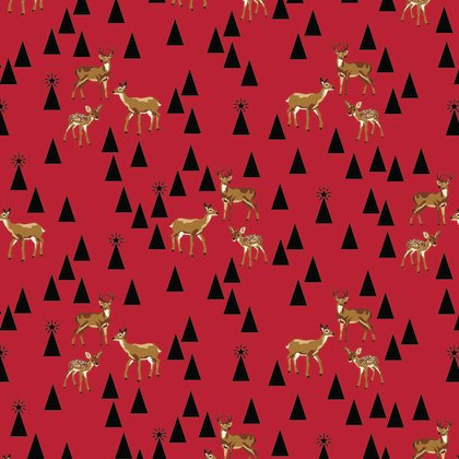 Holiday Homies Bambi Life Red