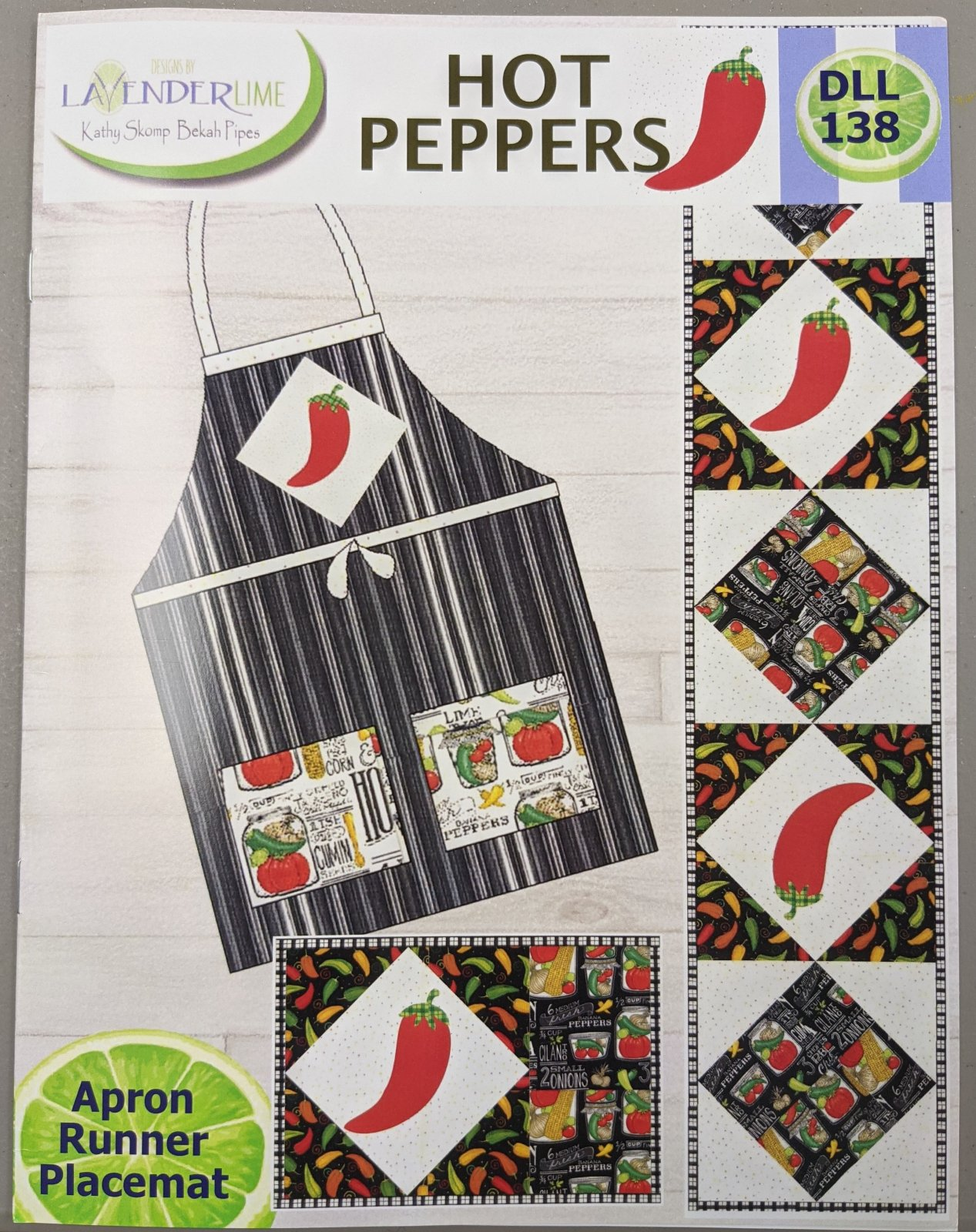 Hot Peppers Pattern