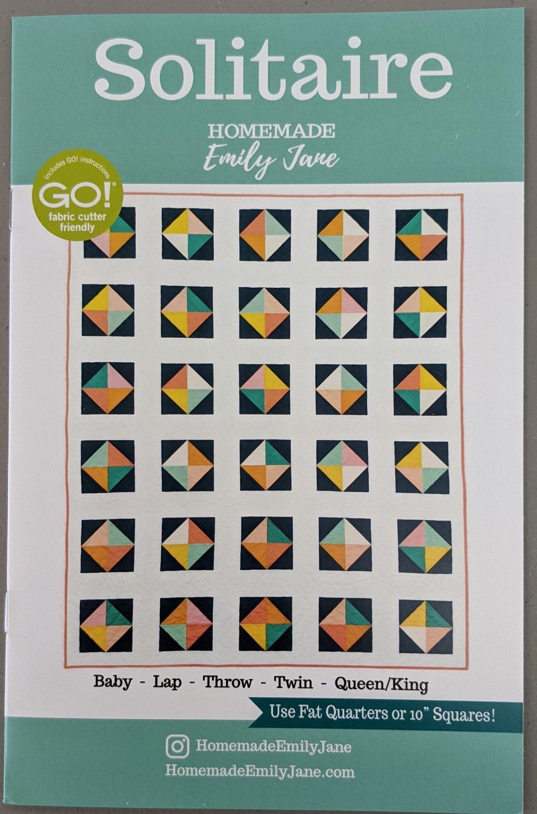 Solitaire Quilt Pattern