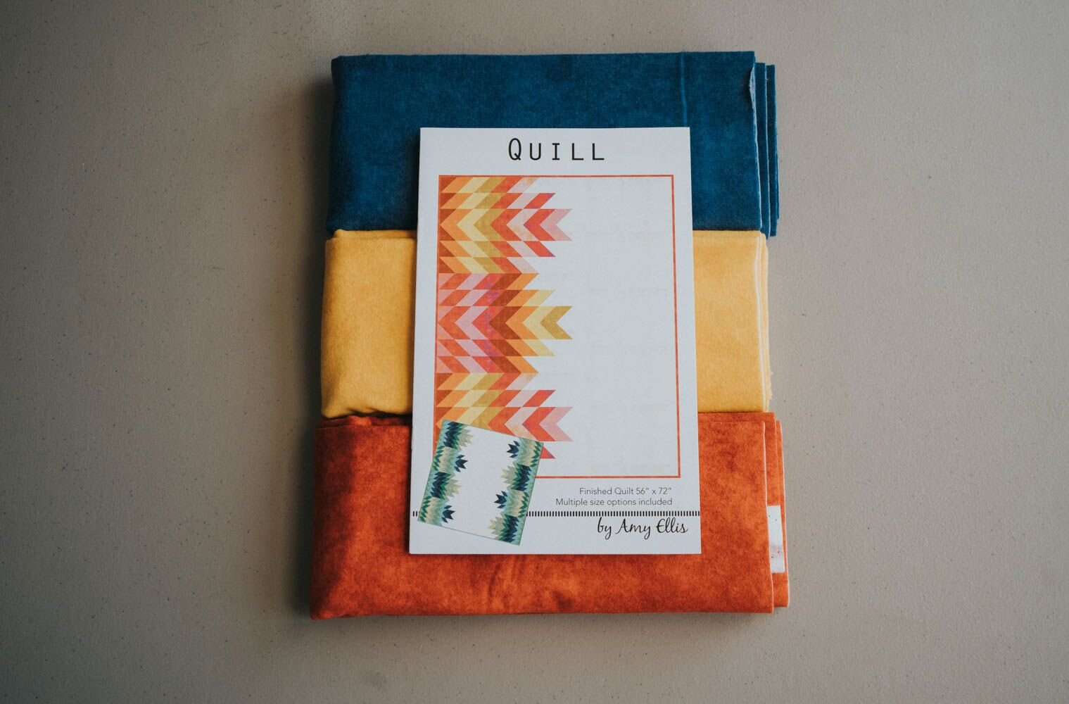 Quill Flannel Kit Fall Navy