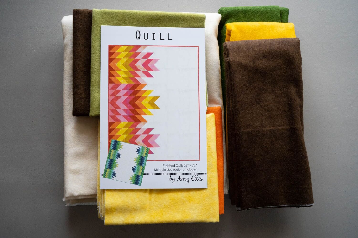 Quill Flannel Kit Fall Cream