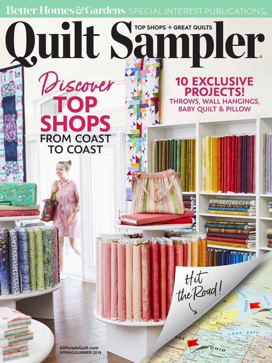 Quilt Sampler Magazine Spring 2019