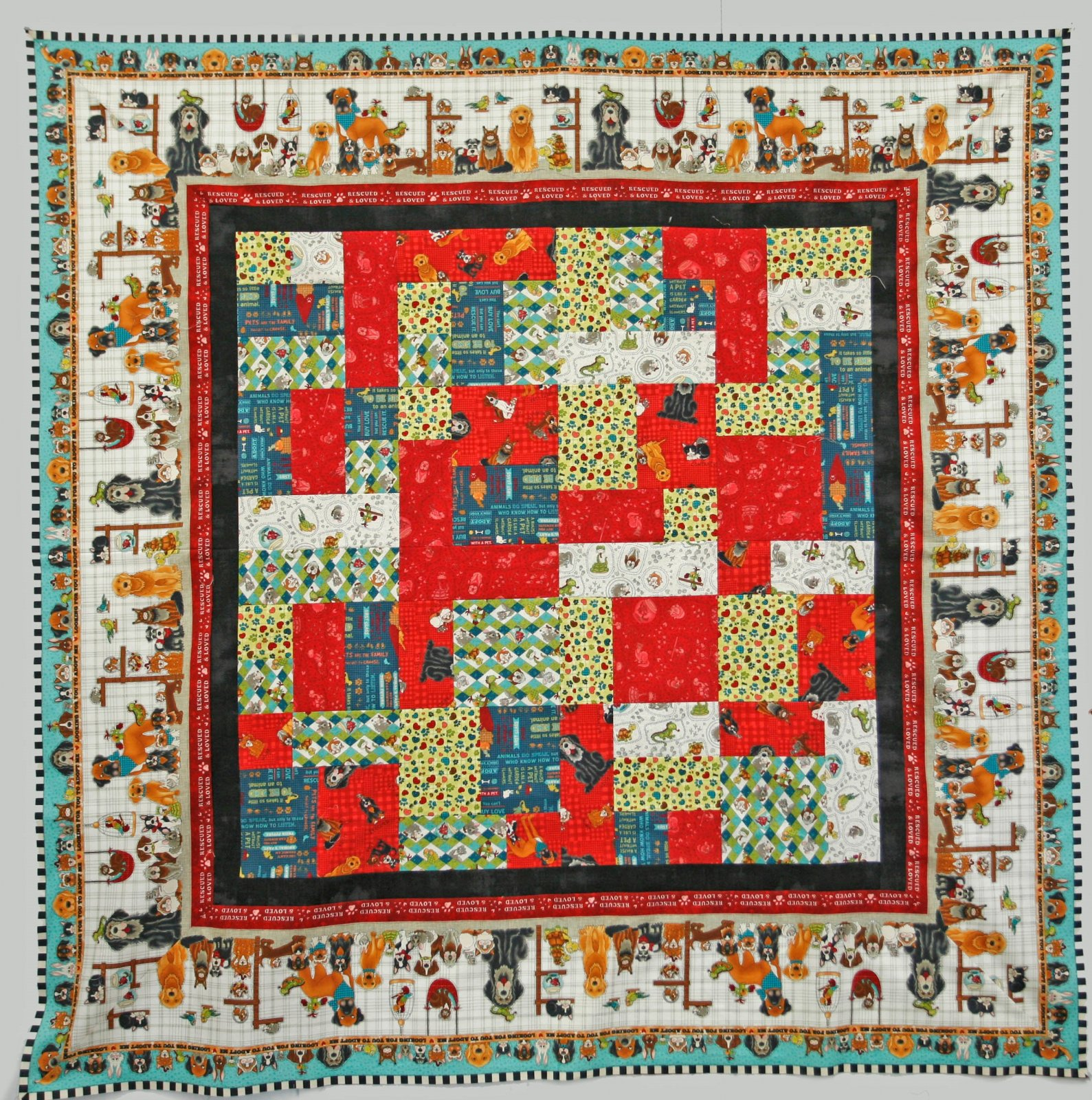 Rescued and Loved Quilt Kit