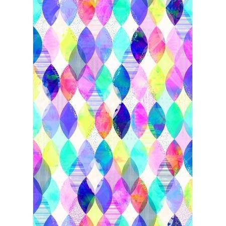 Geometry Diamond Multi Fabric
