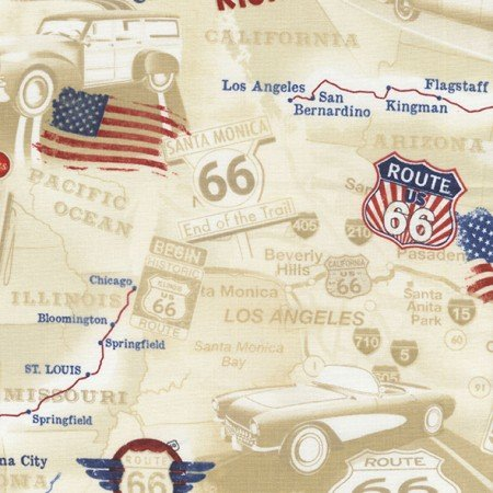 Neutral Route 66 Map